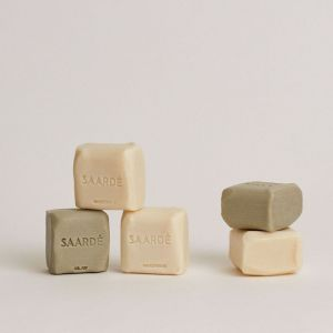 Natural Olive Oil Stone Soap   Almond