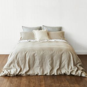 Natural Quilt Cover Set | Various Sizes