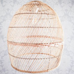 Natural Rattan Pendant Light 52cm