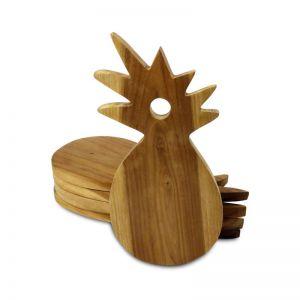 Natural Wood Pineapple Serving Board | OMG I WOULD LIKE