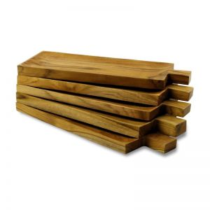 Natural Wood Serving Block With Lip | OMG I WOULD LIKE