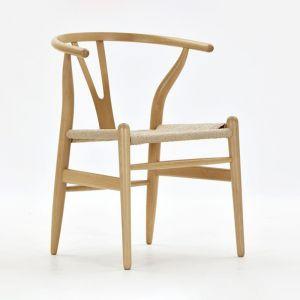 Natural Wooden Frame Replica Hans Wegner Wishbone Chair | Furniture | PRE-ORDER