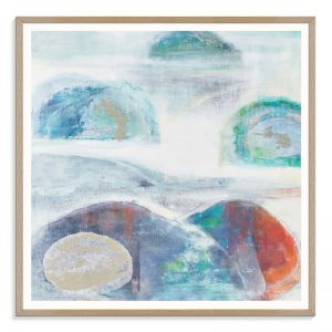 Navigating The Rocks 2 | Karen Hopkins | Canvas or Print by Arist Lane