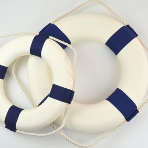 Navy Blue Lifebuoy Ring | 35cm