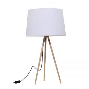 Nea Wood Veneer Table Lamp