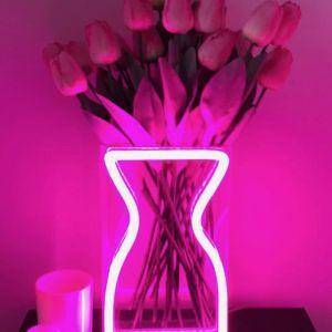 Neon Vase | Pink