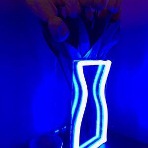Neon Vase | Preorder | Blue