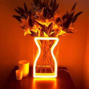 Neon Vase | Preorder | Orange