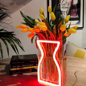 Neon Vase | Preorder | Red