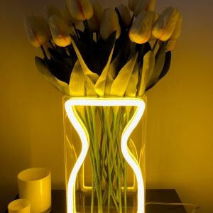Neon Vase | Preorder | Yellow