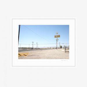 Nevada Desert Hwy | Fine Art Print | by PHOLIO