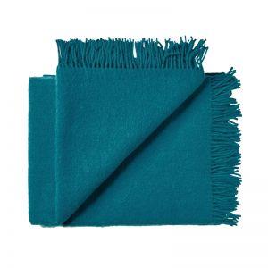 Nevis Throw Rug | Turquoise