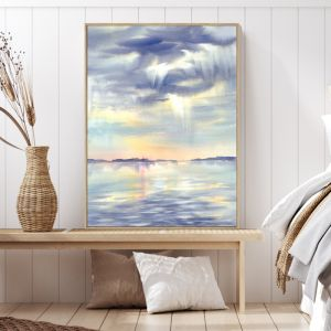New Day | Shadow Frame Wall Art