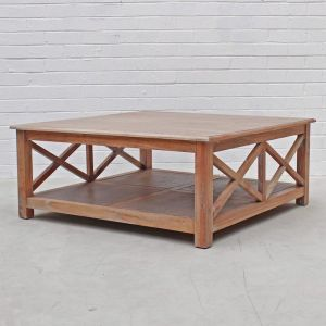New Hamptons Coffee Table | Weathered Oak