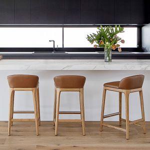 New York Kitchen Stool | Nat Oak by SATARA