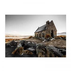 New Zealand Church | Canvas Art Print