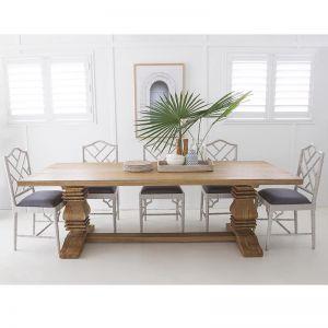 Newport Rectangular Pedestal Table | Various Sizes