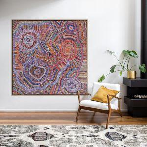 Ngapa Jukurrpa II | Canvas Art Print