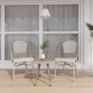 Niana Modern Minimalist  Iron Side Table