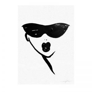 Nina   Unframed Print by Meg Kolac