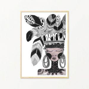 Ninnie | Art Print by Grotti Lotti