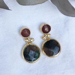 Nitsa Double Drop Earrings