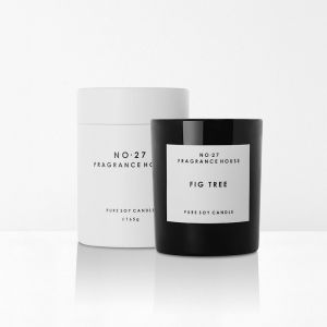 No 27 Fragrance House Fig Tree Scented Candle | by Aura Home