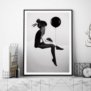 No Such Thing As Nothing (Day) by Ruben Ireland | Unframed Art Print