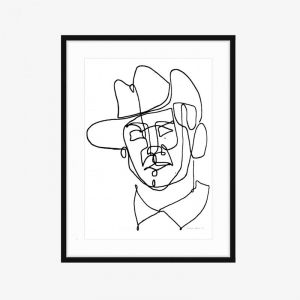 Noel | Limited Edition Fine Art Print | One Line by PHOLIO