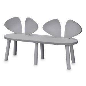 Nofred Mouse Bench Chair | Grey