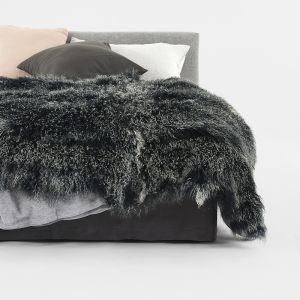 Nordic Pelt by Abode Living | Charcoal | Large