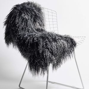 Nordic Pelt by Abode Living   Charcoal   Small
