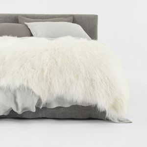 Nordic Pelt by Abode Living | White | Large