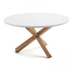 Nori White Table | 135cm