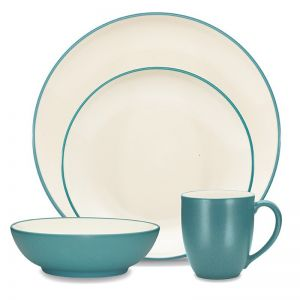Noritake Colorwave 16 piece Dinner Set | Blue