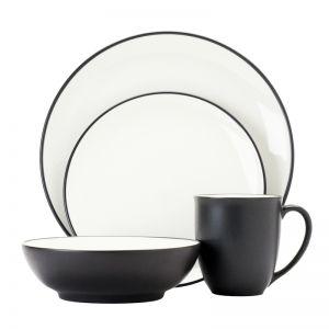 Noritake Colorwave 16 piece Dinner Set | Grey