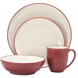 Noritake Colorwave 16 piece Dinner Set | Red