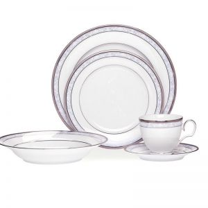 Noritake Hampshire Platinum 20 piece Dinner Set