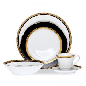 Noritake Regent Gold 20 piece Dinner Set