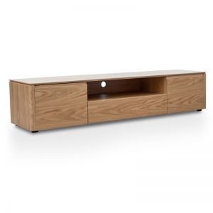 Norris Entertainment TV Unit | Natural Oak