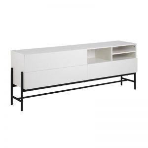 Norse Sideboard 185Cm | White & Black