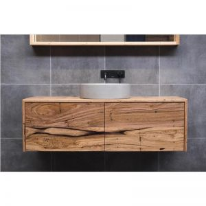 Northcliffe Vanity | Recycled Messmate by Ingrain Designs