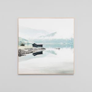 Norwegian Lake | Framed Canvas