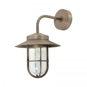 Norwest Large Wall Bracket in Aged Nickel | By Beacon Lighting