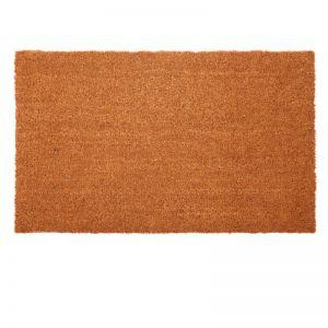 Nubra Plain Natural PVC Backed Coir Door Mat