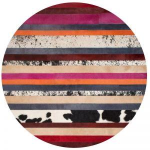 Nueva Raya Rug Circulo by Art Hide | Pink