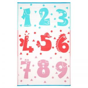 Numbers | Indoor Outdoor Kids Rug | Various Sizes