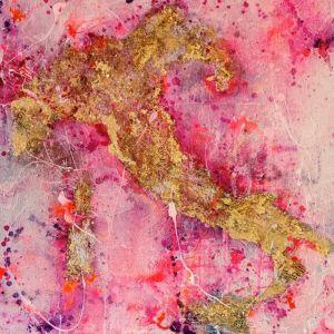 Numero Uno | Original Artwork by Melissa LaBozzetta. SOLD please enquire about Commission.