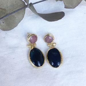 Nysa Double Drop Earrings