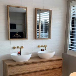 Oakwood Framed Mirror